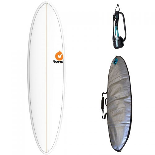 PACK SURF TORQ MOD FUN + HOUSSE + LEASH