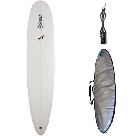 PACK SURF STEWART CMP 9'0 + HOUSSE + LEASH