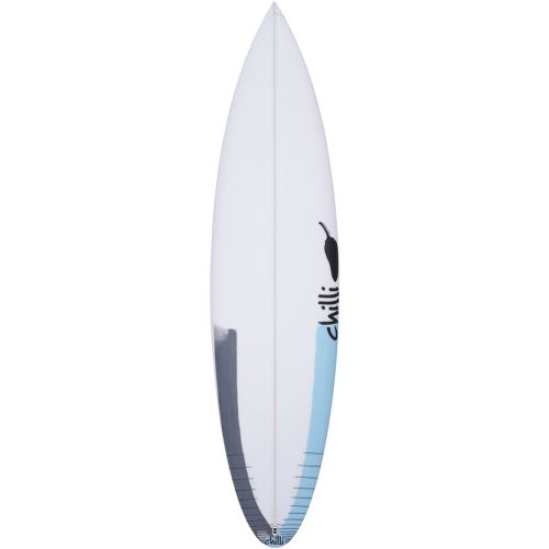 PLANCHE DE SURF CHILLI FADER STEP UP PU 5 FINS