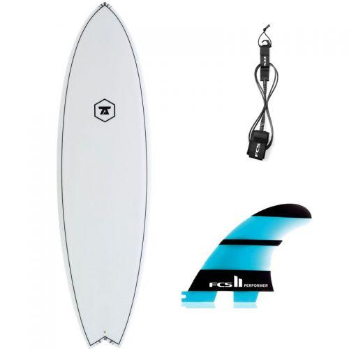 PACK SURF 7S 6'9 SUPER FISH + DÉRIVES + LEASH