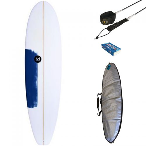 PACK SURF MAHALO 6'8 KEANU + HOUSSE + LEASH + WAX