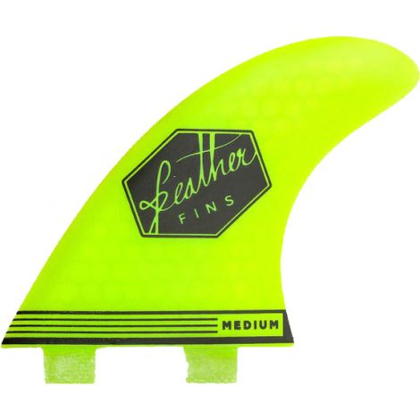 3 DERIVES DE SURF FEATHER FINS ULTRALIGHT DUAL TAB