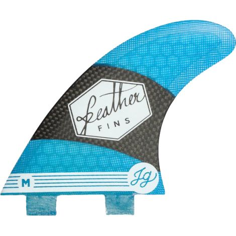 3 DERIVES DE SURF FEATHER FINS JONATHAN GONZALEZ DUAL TAB