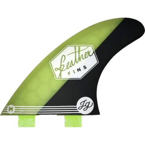 3 DERIVES DE SURF FEATHER FINS JONATHAN GONZALEZ HC DUAL TAB