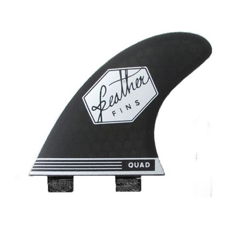 4 DERIVES DE SURF FEATHER FINS QUAD SERIES DUAL TAB