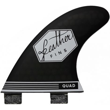 2 DERIVES DE SURF FEATHER FINS REAR FINS SERIES DUAL TAB