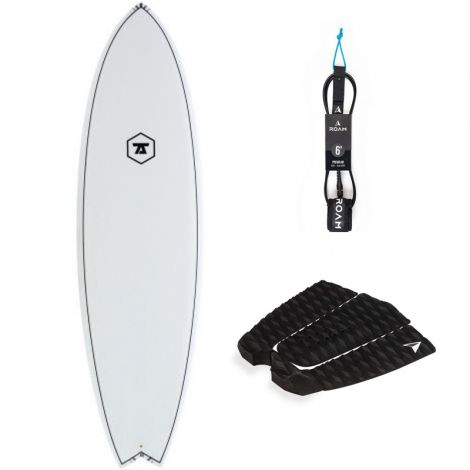 PACK SURF 7S 6'0 SUPER FISH + PAD + LEASH