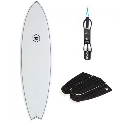 PACK SURF 7S 6'0 SUPER FISH + PAD + LEASH