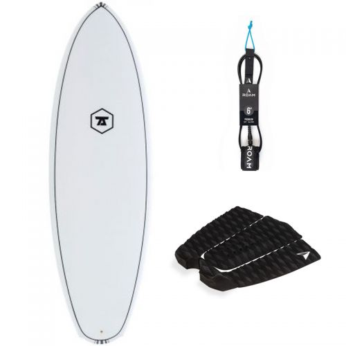PACK SURF 7S 5'8 DOUBLE DOWN + PAD + LEASH