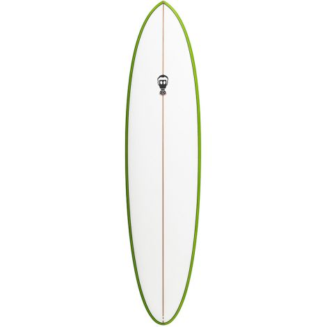 PLANCHE DE SURF MARK PHIPPS ONE BAD EGG + CENTRAL FIN 7' FCS + LEASH
