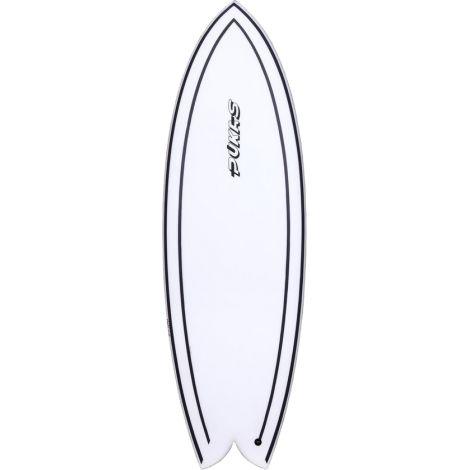 PLANCHE DE SURF PUKAS WOMBI FISH BY EYE SYMMETRY INN/CA