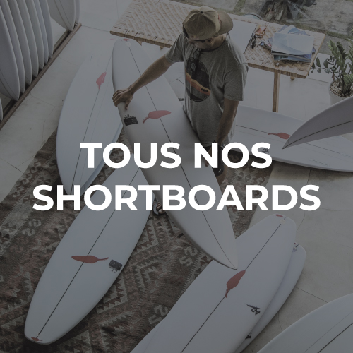 Planches de surf shortboard