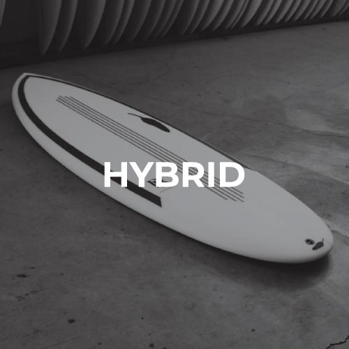 Planches de surf hybrides