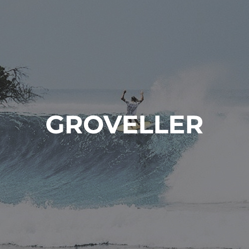Shortboard groveller