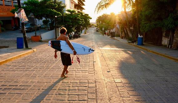 Le coin du surfeur
